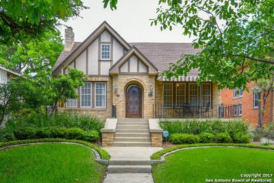 Monte Vista Single Family Home For Sale: 347 E Huisache Ave