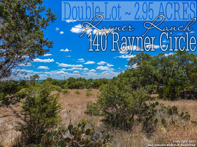 Comal County Residential Lots & Land For Sale: 140 Rayner Cir