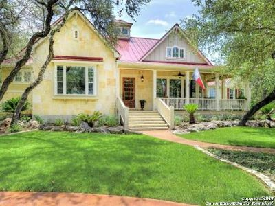 Boerne Single Family Home For Sale: 176 Riverwood