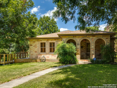 Bexar County Single Family Home Back on Market: 101 Lindell Pl