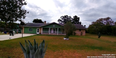 San Antonio Single Family Home For Sale: 11470 S Foster Rd