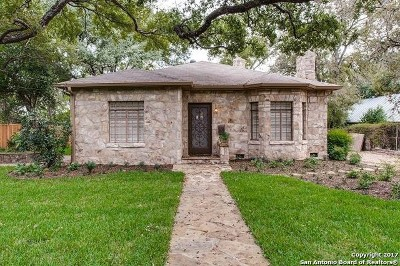 Alamo Heights Rental For Rent: 216 Grant Ave