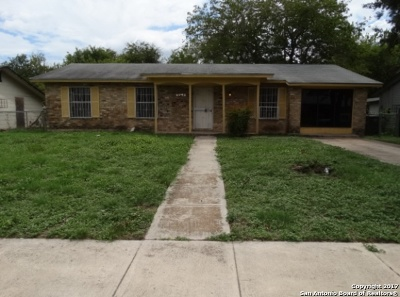 San Antonio Rental Back on Market: 4410 Chesapeake Dr