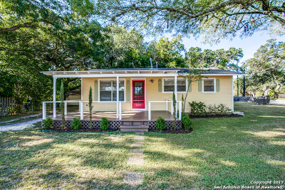 Boerne Single Family Home Back on Market: 269 Lohmann St