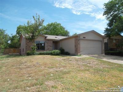 Bexar County Single Family Home Back on Market: 5847 Sun Bay