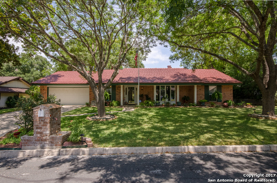 Bexar County Single Family Home Price Change: 637 Candleglo