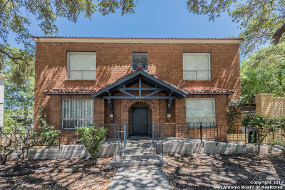 San Antonio Multi Family Home For Sale: 1635 W Mulberry Ave