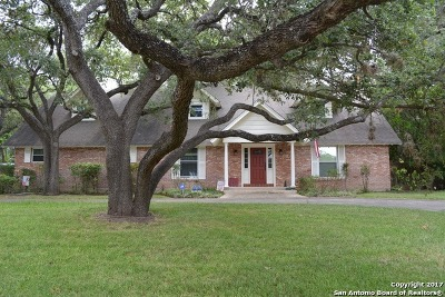 Bexar County Single Family Home Back on Market: 2615 Marlborough Dr