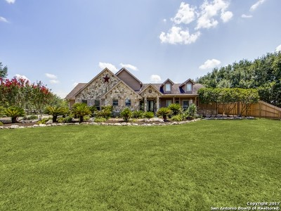 Schertz Single Family Home For Sale: 12786 E Woman Hollering Rd