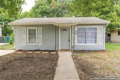 San Antonio Single Family Home Price Change: 518 Dorie St