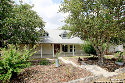 Comal County Single Family Home For Sale: 33636 Stahl Ln