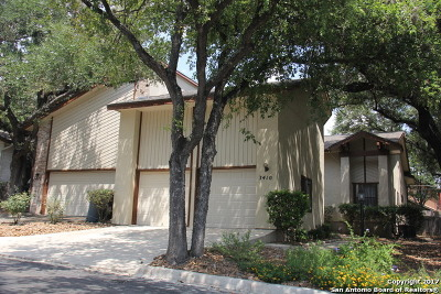 San Antonio Condo/Townhouse Back on Market: 3410 Turtle Village St #3410