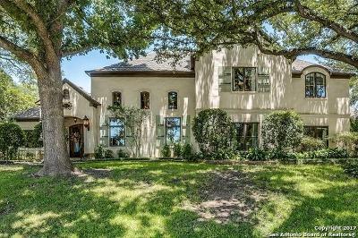 Terrell Hills Single Family Home For Sale: 219 Ridgemont Ave