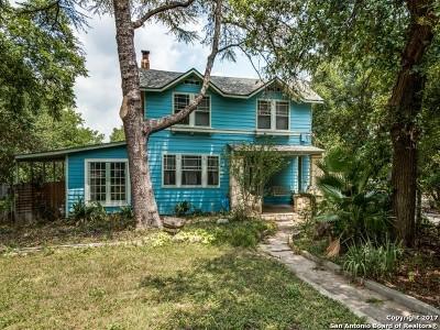 San Antonio Single Family Home Back on Market: 275 Post Ave