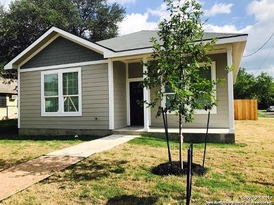 Single Family Home For Sale: 1010 Dreiss St