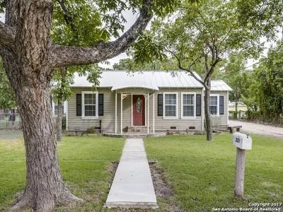 New Braunfels Single Family Home Back on Market: 225 E Main St