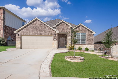 Boerne Single Family Home New: 27435 Valle Bluff
