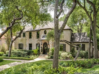 Alamo Heights Single Family Home For Sale: 738 College Blvd