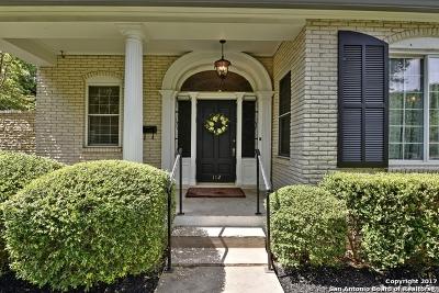 San Antonio Single Family Home For Sale: 112 W Brandon Dr
