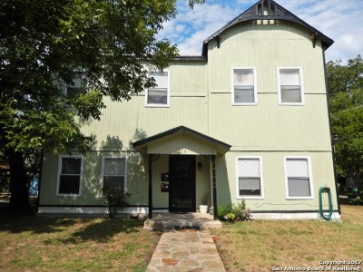 San Antonio Multi Family Home Back on Market: 315 Spofford Ave