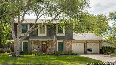 Bexar County Single Family Home For Sale: 15302 Pebble Peak
