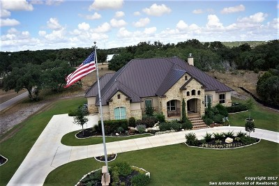 New Braunfels Single Family Home New: 210 Copper Trce