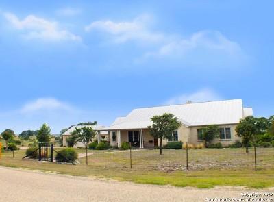 Fredericksburg Single Family Home For Sale: 241 Scenic Outlook Rd