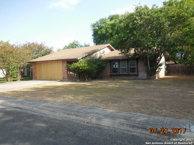 San Antonio Single Family Home New: 7115 Spring Flower Street