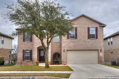 Schertz Single Family Home For Sale: 5112 Eagle Valley St