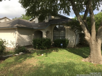 San Antonio Single Family Home Price Change: 8023 Copper Trail Dr