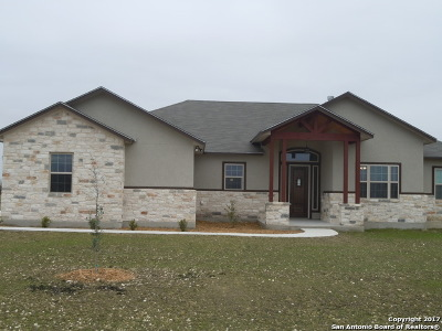 Guadalupe County Single Family Home New: 177 Siena Woods