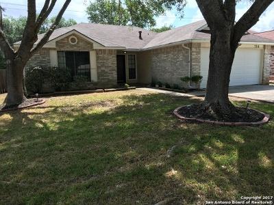 San Antonio Single Family Home Back on Market: 7318 Silent Cloud