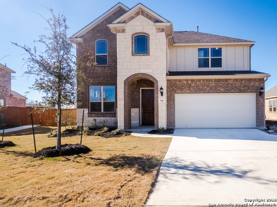 Schertz Single Family Home Price Change: 728 Mesa Verde