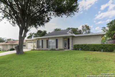 Bexar County Single Family Home Back on Market: 221 Whispering Oaks St