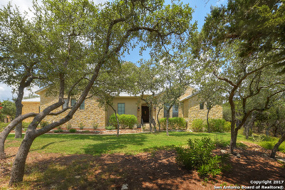 Boerne Single Family Home New: 24807 Caliza Terrace