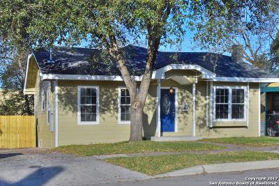 San Antonio Single Family Home For Sale: 923 Ripley Ave