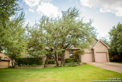 Fair Oaks Ranch Single Family Home New: 29603 Fairway Bluff Dr