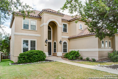 San Antonio Single Family Home New: 25311 Fairway Spgs