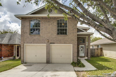 San Antonio Single Family Home For Sale: 16034 Rough Oak St