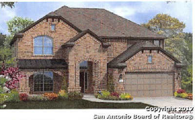 Boerne Single Family Home New: 8003 Rustic Chase