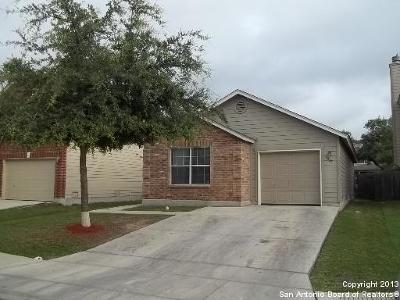 Converse Single Family Home New: 6027 Kensinger Pass