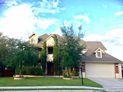 San Antonio Single Family Home New: 15918 Watchers Way