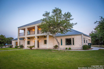 New Braunfels TX Single Family Home For Sale: $775,000