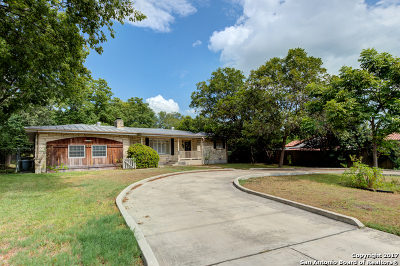 Terrell Hills Single Family Home For Sale: 4526 New Braunfels Ave
