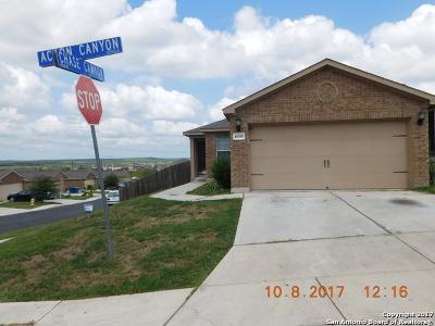 Bandera County Single Family Home New: 10935 Acorn Canyon
