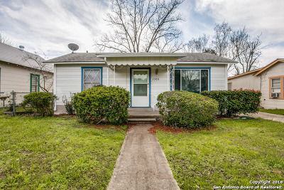 San Antonio Single Family Home Back on Market: 3506 W Travis St