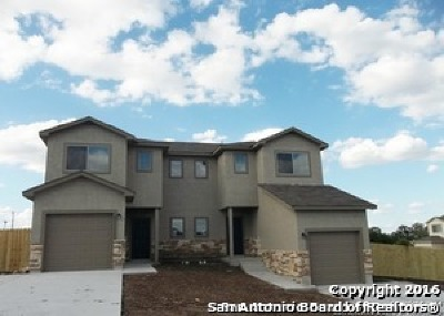 Bexar County Multi Family Home New: 8710-8712 Azul Sky Ct