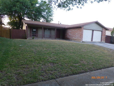 Single Family Home For Sale: 10615 Cross Plns