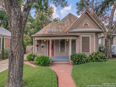 San Antonio Single Family Home Back on Market: 507 Cedar St