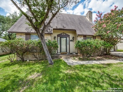 San Antonio Single Family Home Price Change: 2110 Oak Wild St